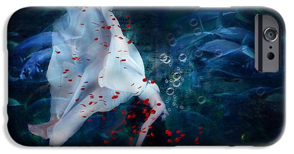 Business iPhone Cases - Death Of Ophelia iPhone Case by Georgiana Romanovna