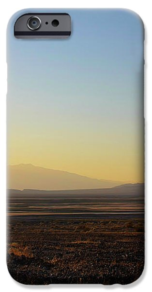 Death Valley -  A Beautiful but Dangerous Place iPhone Case by Christine Till