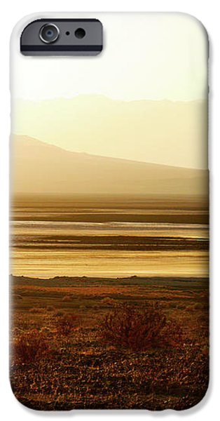 Death Valley - A natural geologic museum iPhone Case by Christine Till