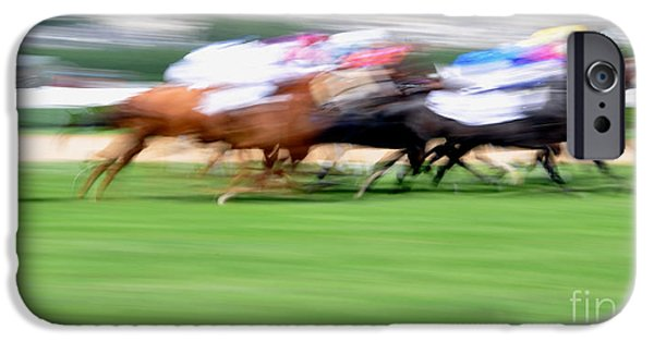 Racecourse iPhone Cases - Deauville iPhone Case by Delphimages Photo Creations