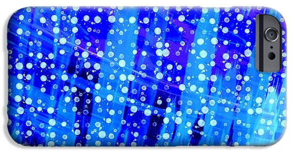 Abstract Digital Tapestries - Textiles iPhone Cases - Deep Sea Dreamings iPhone Case by Suzi Freeman