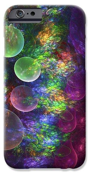 Deep Sea Flora I iPhone Case by Amorina Ashton
