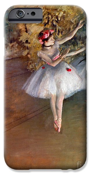 Ballet Dancers Photographs iPhone Cases - DEGAS: DANCERS, c1877 iPhone Case by Granger