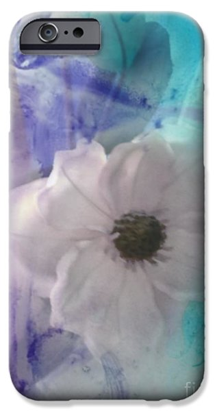 Abstract Digital Drawings iPhone Cases - Delicate Beauty iPhone Case by TLynn Brentnall