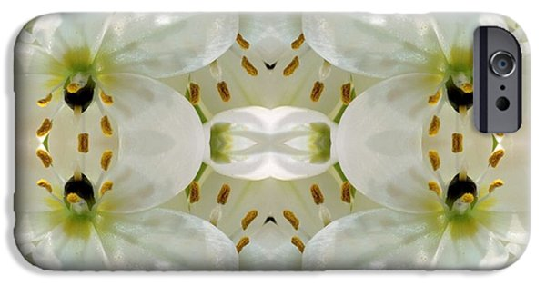 Nature Abstract Tapestries - Textiles iPhone Cases - Delicate Dreamings iPhone Case by Suzi Freeman