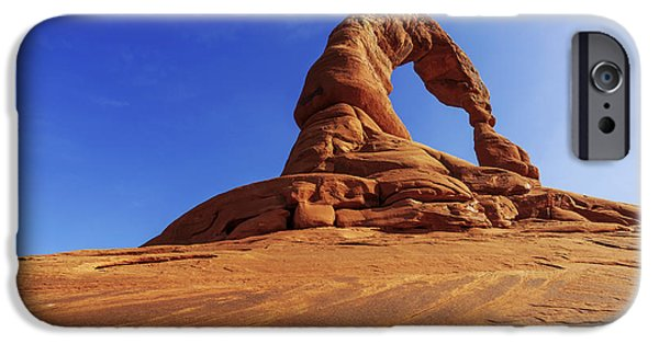 Hiking iPhone Cases - Delicate Perspective iPhone Case by Chad Dutson