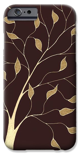 Pen And Ink iPhone Cases - Delicate Whimsy X I iPhone Case by Chris Bishop