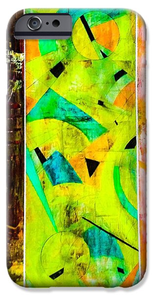 Meshed Digital iPhone Cases - Delnice 3 iPhone Case by Barry Knauff