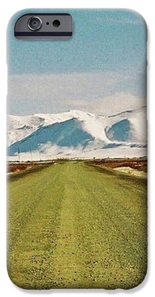 Dempster Highway - Yukon iPhone Case by Juergen Weiss