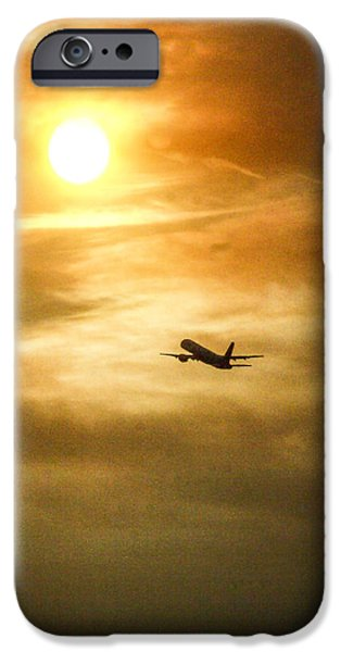 Poetic iPhone Cases - Departure iPhone Case by Hsin Liu