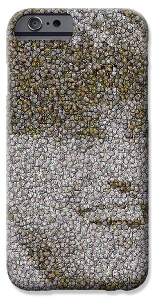 Autographed Mixed Media iPhone Cases - Derek Jeter Baseballs Mosaic iPhone Case by Paul Van Scott