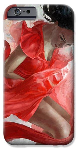 Descension iPhone Case by Steve Goad