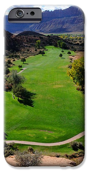 Desert Canyon Golf Course iPhone Case by Gary Whitton