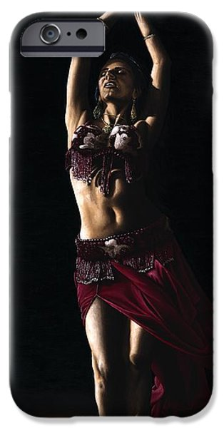 Slim iPhone Cases - Desert Dancer iPhone Case by Richard Young