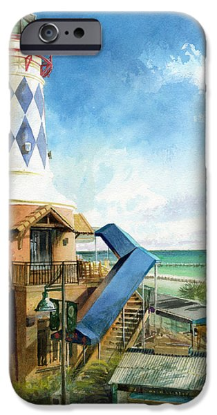 Lighthouse iPhone Cases - Destin Lighthouse iPhone Case by Andrew King