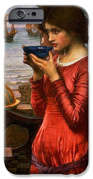 Pre-raphaelites iPhone Cases - Destiny iPhone Case by John William Waterhouse