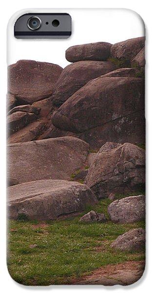 Devils Den at Gettysburg iPhone Case by David Bearden