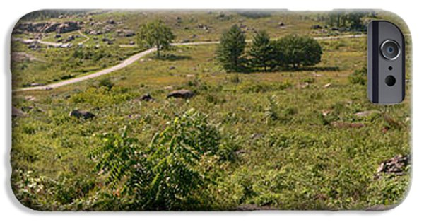 Devils Den iPhone Cases - Devils Den from Little Round Top iPhone Case by David Bearden
