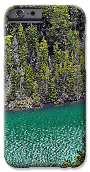 Diabolo Lake North Cascades NP WA iPhone Case by Christine Till