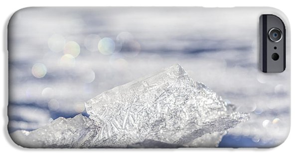 Sheets iPhone Cases - Diamond in the rough  iPhone Case by Yves Gagnon