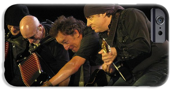 E Street Band iPhone Cases - Diamonds in the Sidewalks iPhone Case by Jeff Ross
