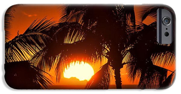 Ocean Sunset iPhone Cases - Did you See the Sunrise? iPhone Case by Christopher Purcell