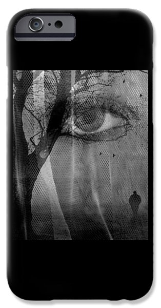 Pathway iPhone Cases - Different Paths iPhone Case by iina  Van Lawick