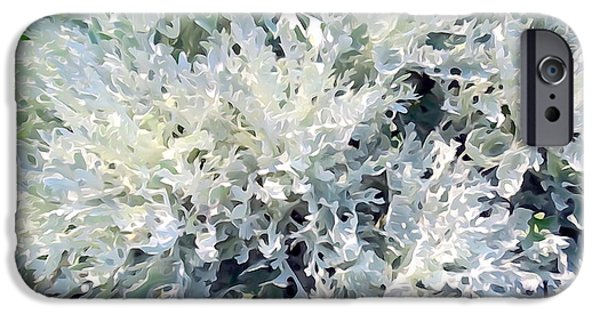 Abstract Digital Photographs iPhone Cases - Digital Dusty iPhone Case by Ed Weidman