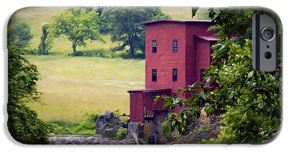 Grist Mill iPhone Cases - Dillard Mill iPhone Case by Cricket Hackmann