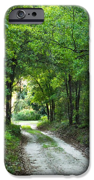 Overhang iPhone Cases - Dirt Trail iPhone Case by Shelby  Young