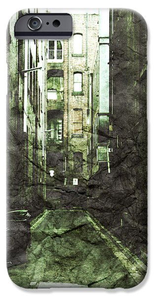 Alley Photographs iPhone Cases - Discounted Memory iPhone Case by Andrew Paranavitana