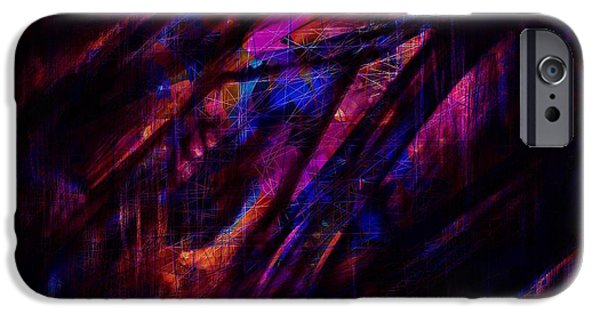 Disorder iPhone Cases - Disorder iPhone Case by Rachel Christine Nowicki