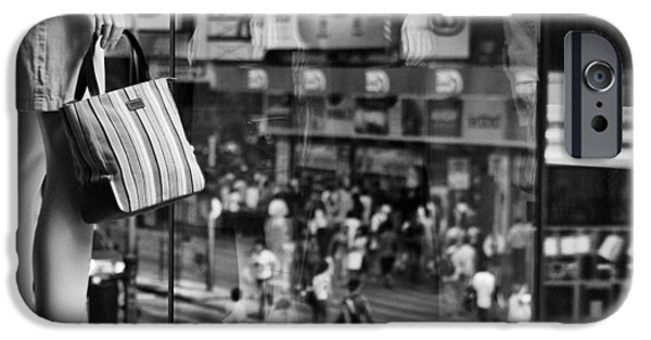 Shop Windows iPhone Cases - Display iPhone Case by Dave Bowman