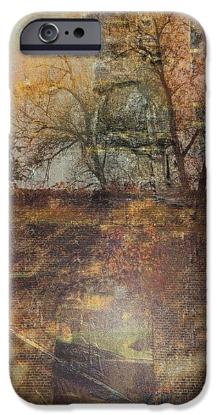Miracle iPhone Cases - Divine Autumn iPhone Case by Vincent Messelier