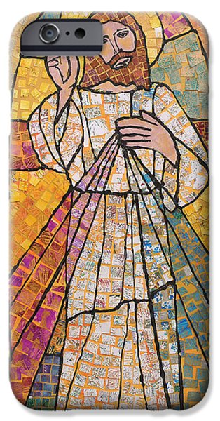 Divine Mercy iPhone Cases - Divine Mercy iPhone Case by Carol Cole