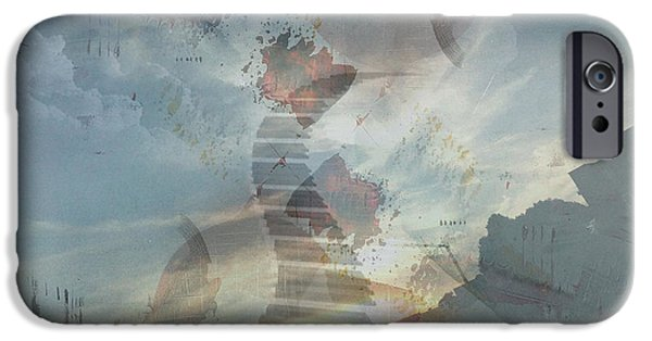 Piano iPhone Cases - Divine Piano iPhone Case by Vincent Messelier