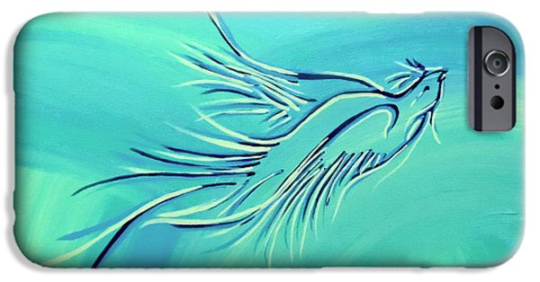 Flight iPhone Cases - Divinity iPhone Case by Jilian Cramb