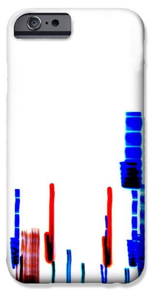 Dna Art iPhone Cases - DNA Slide iPhone Case by Methune Hively