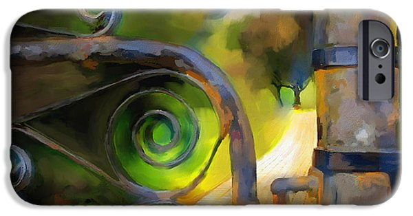 Pathway Digital iPhone Cases - Do Not Enter.... iPhone Case by Bob Salo