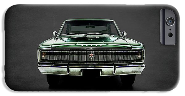 Hemi iPhone Cases - Dodge Charger 426 Hemi iPhone Case by Mark Rogan