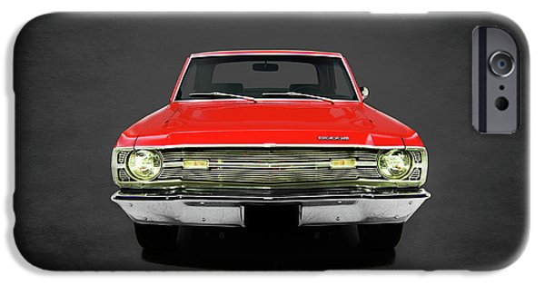 Coronet iPhone Cases - Dodge Dart 340 iPhone Case by Mark Rogan