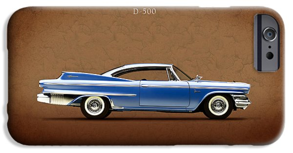 Hemi iPhone Cases - Dodge Polara D 500 iPhone Case by Mark Rogan