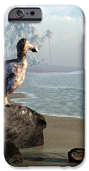 Dodo Afternoon iPhone Case by Daniel Eskridge