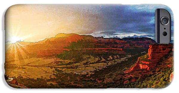 Rust iPhone Cases - Doe Mountain Rainbow iPhone Case by Bill Caldwell -        ABeautifulSky Photography