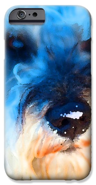 Dog 2 . Photo Artwork iPhone Case by Wingsdomain Art and Photography