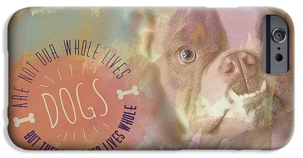 Little iPhone Cases - Dogs iPhone Case by Joye Ardyn Durham