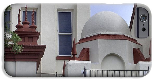 Architecture Tapestries - Textiles iPhone Cases - Dome and Finials iPhone Case by Lin Grosvenor