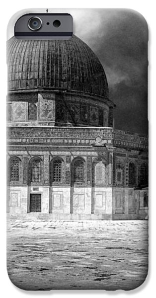 Dome of the Rock - Jerusalem iPhone Case by Munir Alawi