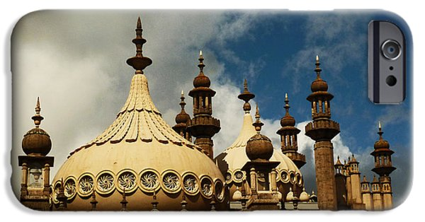 Palatial iPhone Cases - Domes and Turrets - The Royal Pavilion iPhone Case by Connie Handscomb