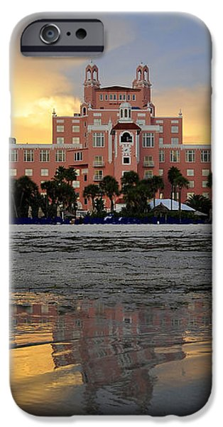 Don Cesar reflection iPhone Case by David Lee Thompson